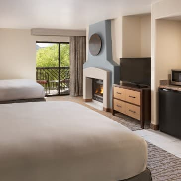 Our Accessible Rooms offer extra space and additional amenities.
