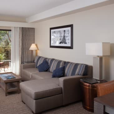 Our refurbished rooms are modern and spacious.